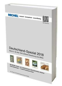 Michel Deutschland Spezial 2018 Band 2 - 1945-2018, nagelneu + OVP!