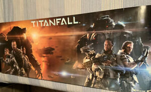 Xbox EA Respawn Titanfall 55x19 HUGE Poster (GameStop Launch EXCLUSIVE)