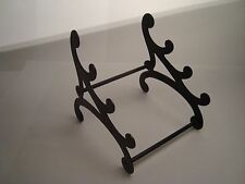 "Antique metal pen rest holder manufacture marked ""M"""