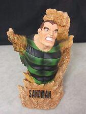 Sandman Mini-Bust ~ Asylum's Rogues Gallery ~ 2002 Marvel Comics ~ 1 of 6500