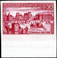 FRANCE N° 1294 NEUF** NON DENTELÉ Bord de Feuille