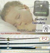 Linea Bic Meccanismo Orologio Semi SILENZIOSO c/Lancette da 12cm mod. P2 - B16