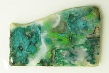 Estate Sale - Beautiful 192ct Gem Silica Quartz Chrysocolla Rough Slab Ray Az