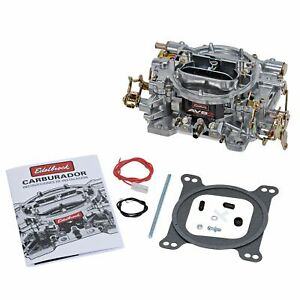 EDELBROCK 500CFM AVS2 Carburetor w/manual Choke P/N - 1902