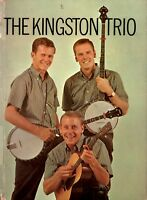 KINGSTON TRIO 1960 SOLD OUT TOUR CONCERT PROGRAM BOOK / DAVE GUARD / VG 2 EX