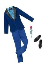 BARBIE Abiti Vestiti di Ken - Smoking Blu Scuro e Accessori - Mattel bcn65