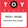 19251-16100 Toyota Generator assy, signal 1925116100, New Genuine OEM Part