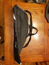 Black/White Easton Bat Bag,Softball/Tee Ball, Kids, Boys/Girls, Holds 2 Bats