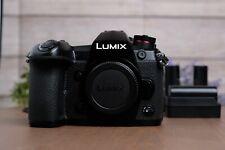 Panasonic LUMIX DC-G9 20.3 MP 4K Four Thirds Digital Camera w/Batts & Chargers