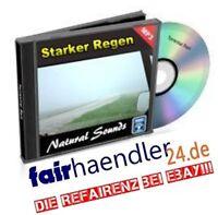 CD-VERSAND STARKER REGEN MP3s NATURGERÄUSCHE Chill Nature Sounds 2 E-Lizenz NEU