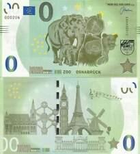 Biljet billet zero 0 Euro Memo - Zoo Osnabruck (062)