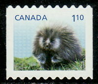 Canada #2608i Baby Wildlife Definitive From Booklet Die-Cut MNH
