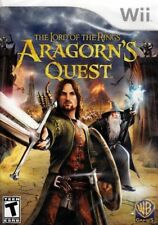 Lord of the Rings: Aragorn's Quest - Game-Disc [ Nintendo Wii ] W/ Manual