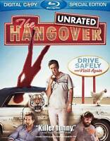The Hangover (Blu-ray Disc, 2009, Rated/Unrated) Flawless, Mint - Fast Shipping