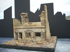 Dioramas Plus DP7 Apartment Ruins. 1/35 + Free $15 Diorama Base Great Detail!