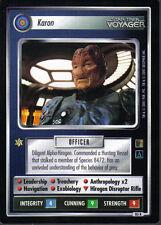 STAR TREK CCG THE BORG RARE CARD KARON