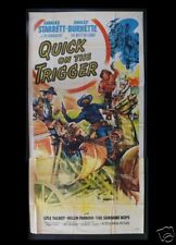 QUICK ON THE TRIGGER 3SH ORIG MOVIE POSTER WESTERN 1948