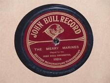 "JOHN BULL ORCHESTRA The Merry Marines/ Tin Soldiers Parade 10"" 78 John Bull 1021"