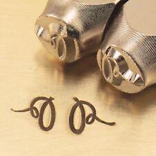 2 Flourish Ends M Metal Design Stamp By ImpressArt Metal Jewelry Punch Blanks