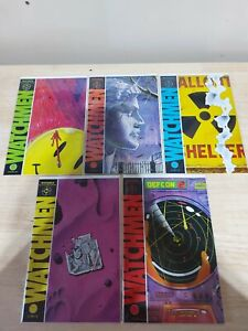 Watchmen #1- 4 & 10 First Appearance F/VF DC