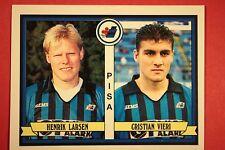 Panini Fußballer 1992/93 1992 1993 458 PISA LARSEN VIERI ROOKIE Kiosk