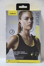 Jabra Sport Pulse Wireless Bluetooth Stereo Headset with Built-In Heart Rate ...