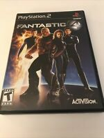 Fantastic 4 (Sony PlayStation 2, 2005) PS2 Complete Free Shipping