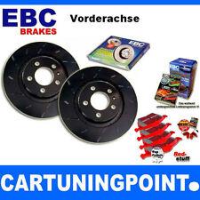 EBC B11 Kit Freno ANTERIORE Pastiglie Disco per Opel Corsa B 73 DP3940C USR1480