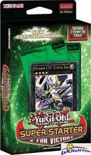 Yugioh V for Victory Factory Sealed Super Starter Deck-42 Cards+2 Power up packs