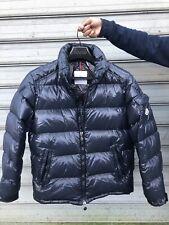Authentic MONCLER MEN'S PUFFER Navy Blue Maya Giubbotto Jacket  SIZE 5