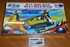 US H-25 Army Mule HUP-2 Heli Helicopter Hubschrauber in 1:48 Atlantis 502 Neu