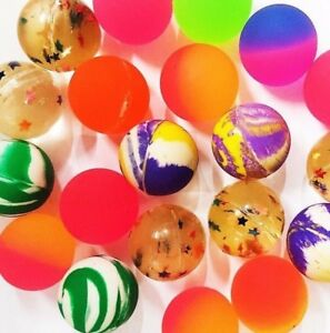 50 BOUNCY JET BALLS BIRTHDAY PARTY LOOT BAG  FILLERS- FREE SAME DAY POSTAGE