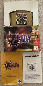 The Legend of Zelda Majoras Mask Nintendo 64 N64 PAL FREE POSTAGE