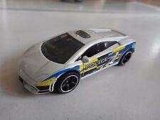 Matchbox Lamborghini Gallardo Police in White