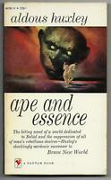 Ape and Essence by Aldous Huxley (1958 Bantam 1st pb {A1793} Brave New World)