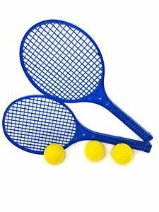 E-Deals Soft Tennis Set with three 70mm Foam Tennis Balls