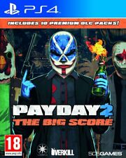 Payday 2: The Big Score | PlayStation 4 PS4 New (14)