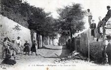 CPA 34 AUTIGNAC LE TOUR DE VILLE (BELLE ANIMATION DE RUE