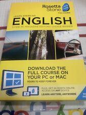 BRAND NEW - Rosetta Stone American English Full Course