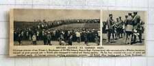 1919 German Hero Private Bruckmann Rescues British Pilot Wiltshire Aerodrome