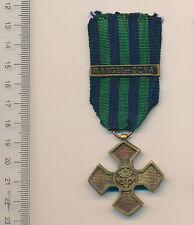 Romanian medal Romania order WWI Inter ALLIED Commemorative Cross TG OCNA bar RR