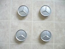 Mercedes wheel center caps hubcaps emblem badge E G C class set of 4