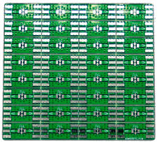 Filter Development PCB for Minicircuits FV1206 filters Qty: 32