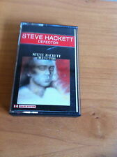 STEVE HACKETT DEFECTOR 1980 CASSETTE TAPE