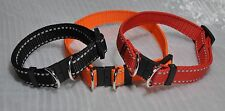Breakaway (Safety Break away) Reflective Webbing Dog Collar 20mm (25cm -40cm)