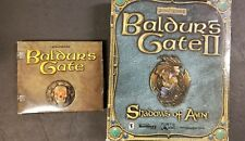 Baldur's Gate II: Shadows of Amn (PC, 2000) BIG BOX  and Baldours gate (pc)