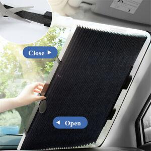 Universal Car Folding Window Sun Shade Visor Padded Windshield Cover 46cm*130cm