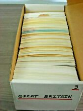 Great Britain, Excellent assortment of Stamps in 575+ stock cards