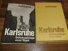 Kurt Kranich -- KARLSRUHE // Schicksalstage einer Stadt // viele Fotos+Dokumente