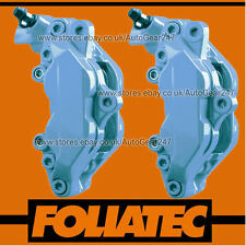 Foliatec Sky Blue High Temperature Brake Caliper & Engine Paint Lacquer Kit Set